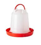 Drinkklok plastiek 3 L met schroef