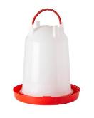Drinkklok plastiek 10 L met schroef