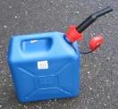 Jerrycan plastiek blauw extra fort 10 L