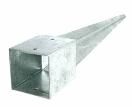 Grondpiket vierkant 90x90mm