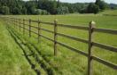 Paardenomheining Windsor - Groen - 25,5 TSN - 2,25m - 3R - 135°